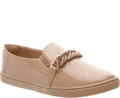Tênis Slip On Correntes Nude | Anacapri